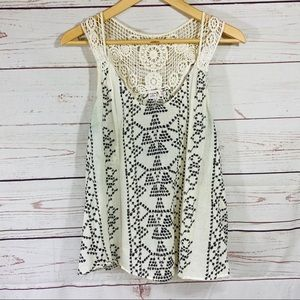 Melrose and Market Cotton Top sz Large!